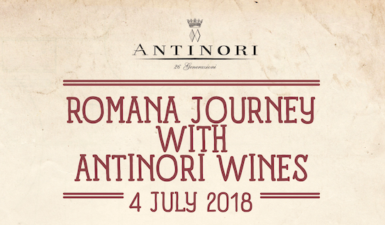 osteria romana antinori wines